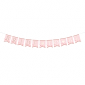 Banner Bride to Be Pink and Gold, 2 m