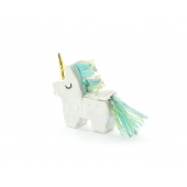 Mini piñata  Unicorn / Enhjørning