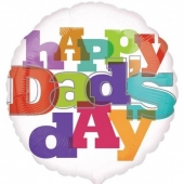 Folieballong Happy Dad's day (Farsdag)