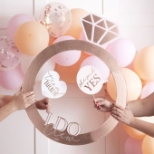 Photo Booth ramme Ring - Blush Hen