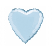 Folieballong Baby Blue Heart