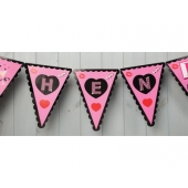 Flaggbanner Hen Party