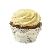 Cupcake wrappers Elegant Gold