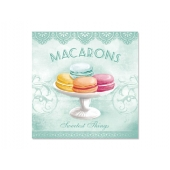 Servietter Macarons tiffany