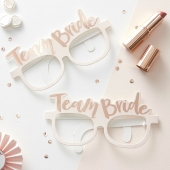 Ginger Ray briller Team Bride, 8 stk.