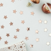 Konfetti Stars Rose Gold
