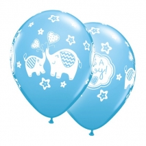Ballonger Small Elephants It's a Boy, 5 stk.