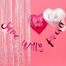 Banner Same Willy Forever - Bride Tribe, 2 m