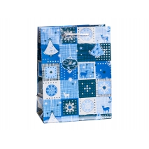 Juleposer Blue Patchwork
