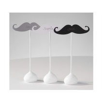 Talking Tables moustache pinner, 12 stk.