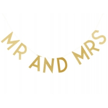 Ginger Ray banner Mr & Mrs