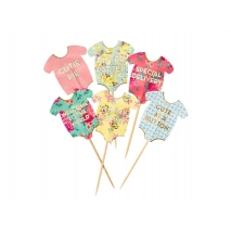 Cupcake toppers Truly Baby, 24 stk.