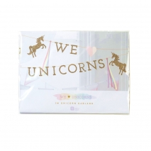 Talking Tables banner We Love Unicorns, 3 m