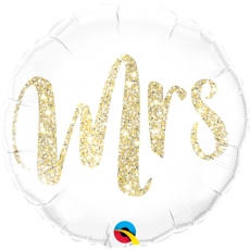 Folieballong Mrs.