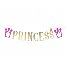 Banner Princess Party, 1,5 m