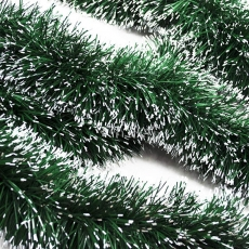 Juletreglitter Green Snow Tips, 2 m