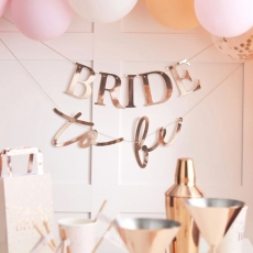 Banner Bride To Be - Blush Hen, 1,5 m