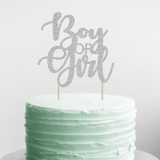 Kaketopp til Babyshower Boy or Girl