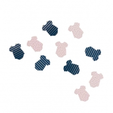 Konfetti Pink & Navy Gender Reveal