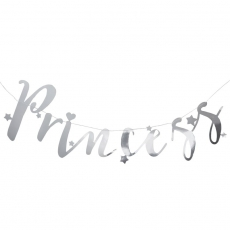 Ginger Ray banner Princess Party, 1,5 m