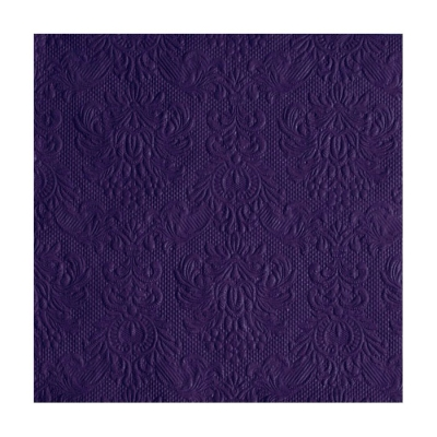 Servietter Elegance Dark Purple, 15 stk.