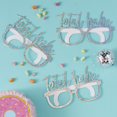 Partybriller Iridescent Total Babe - Good vibes, 8 stk.