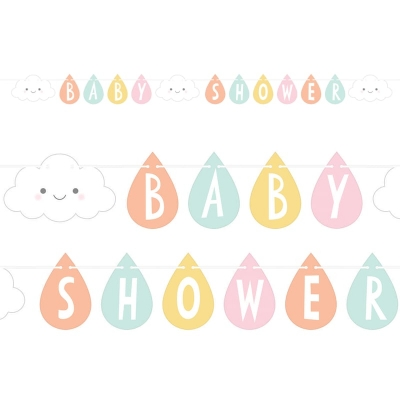 Flaggbanner Sunshine Baby Shower, 2,59 m