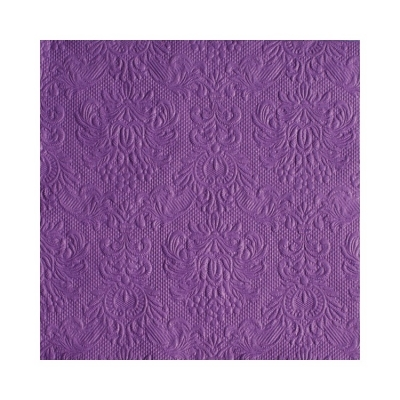 Servietter Elegance Purple, 15 stk.