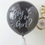 Stor ballong m/konfetti Gender Reveal (Boy or Girl)
